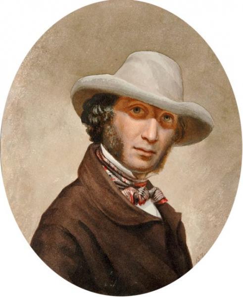 Пушкин в поярковой шляпе