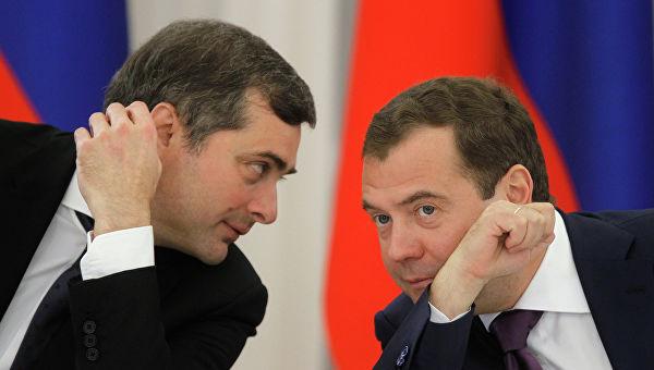 Сурков Медведев
